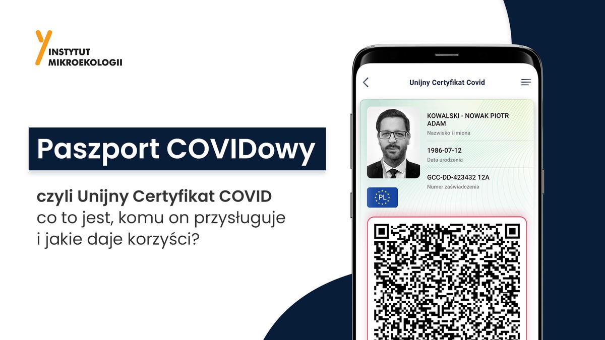 paszport covidowy a Unijny Certyfikat COVID